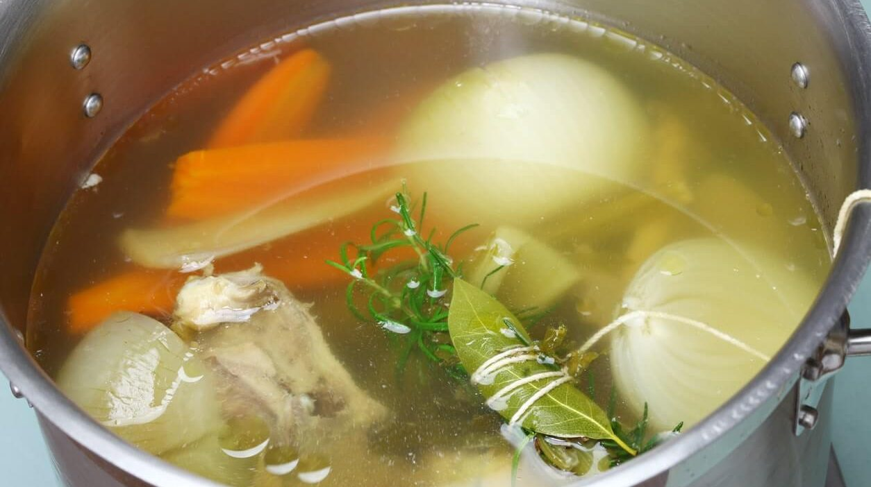 Making white stock at home