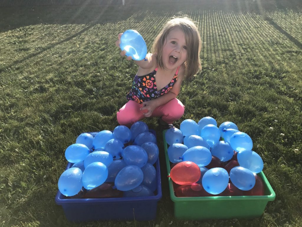 water balloons 4th july games