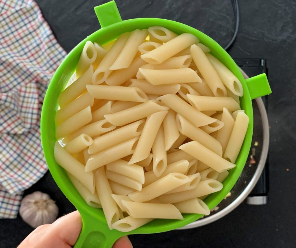 Penne with Prosciutto
